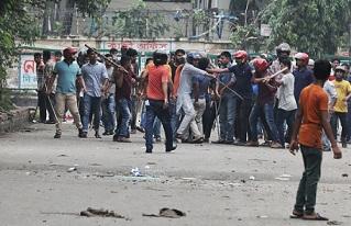 Bangladesh student unrest