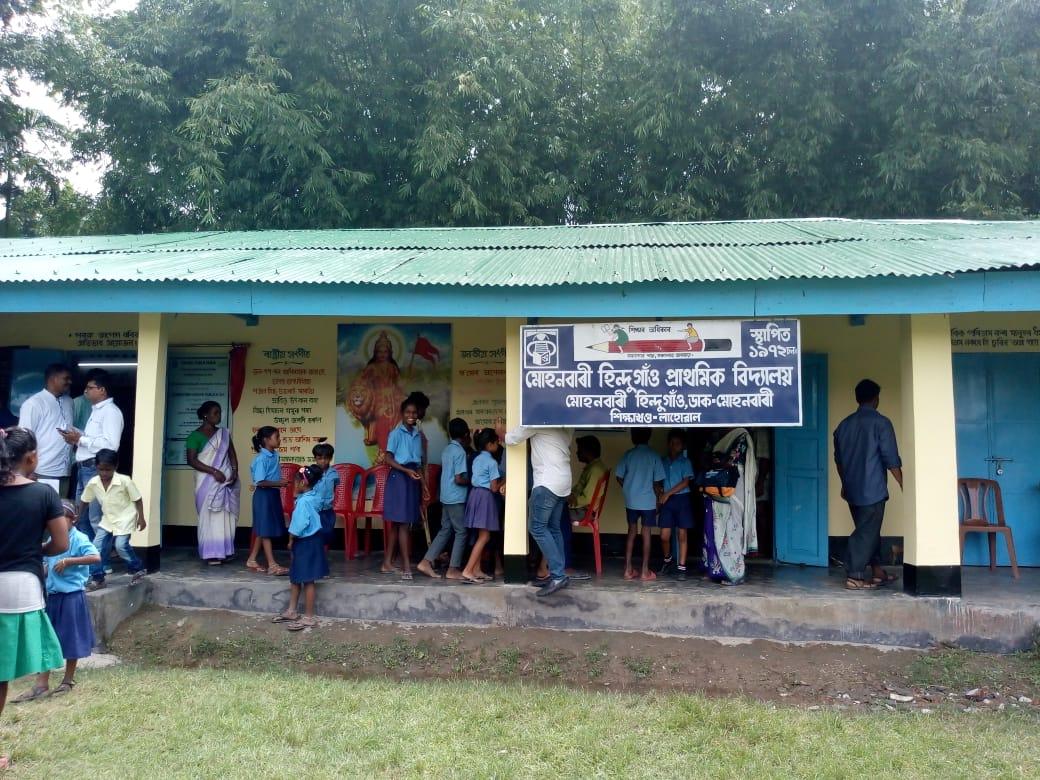 renovates school in Dibrugarh