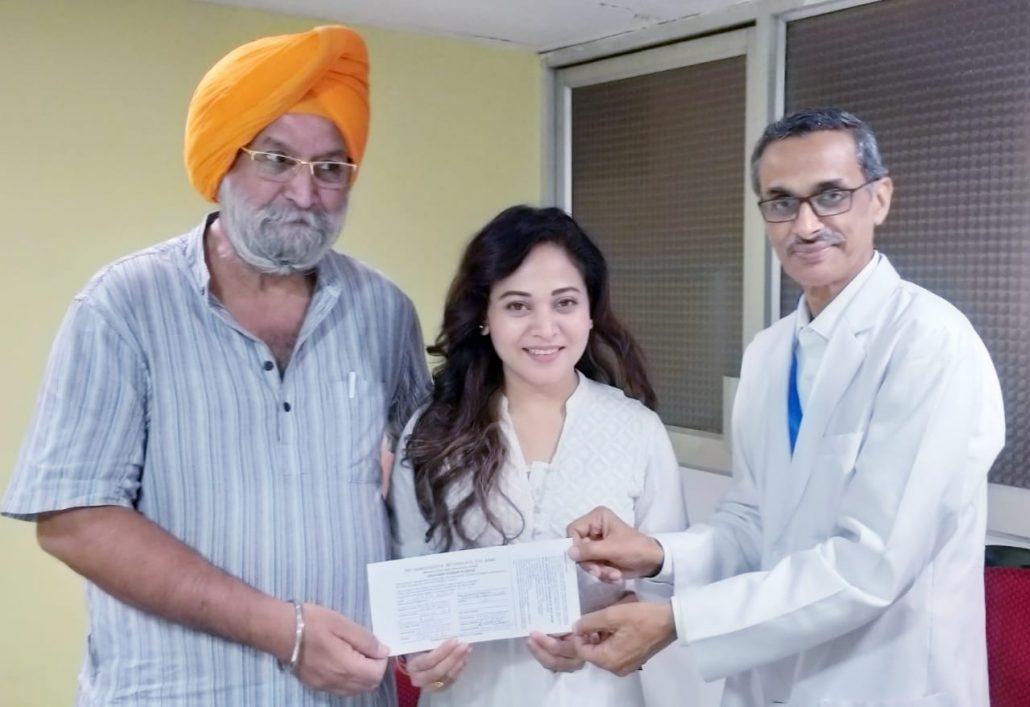 Assamese actor Zerifa Wahid donates her eyes