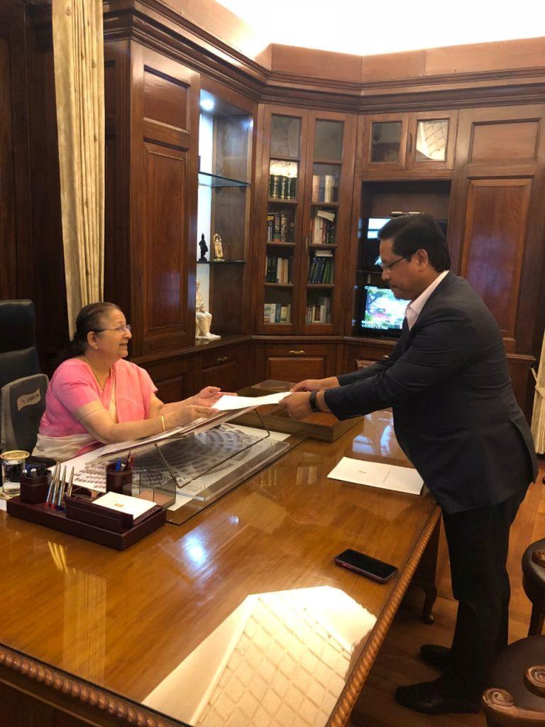 Meghalaya CM submits resignation as MP Tura