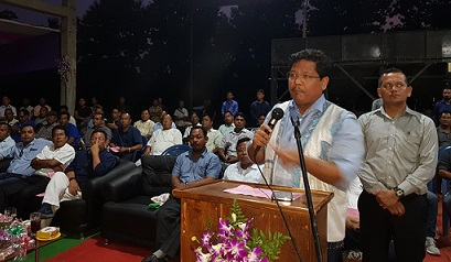Meghalaya CM inaugurates first pavers & stone industry in Garo Hills 1
