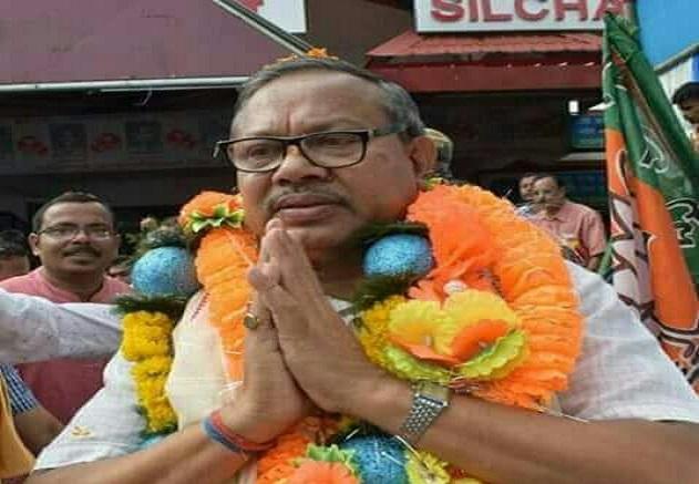 BJP MLA from Silchar Dilip Paul. File photo: Aparna Laskar