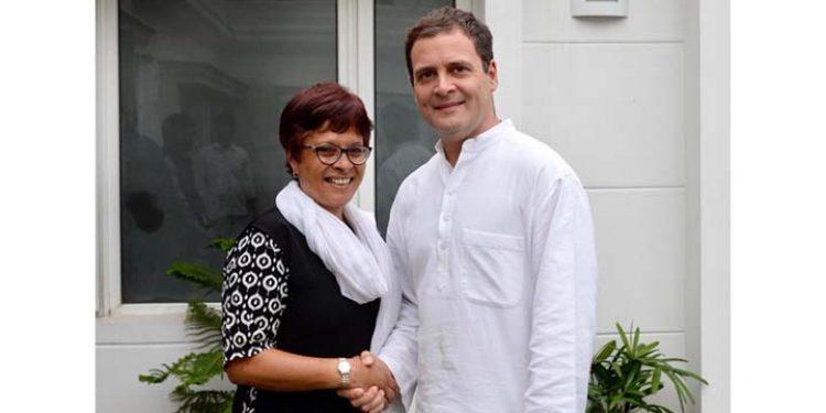 Rahul with Ampareen