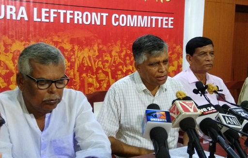 File image of CPI-M spokesperson Gautam Das. Image: Northeast Now