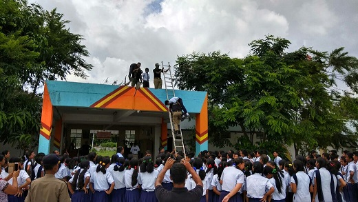 Disaster preparedness: Mock drill at school in Assam's Udalguri