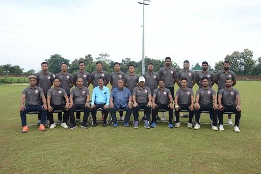 Nagaland Senior Cricket Team. Photo: Northeast Now