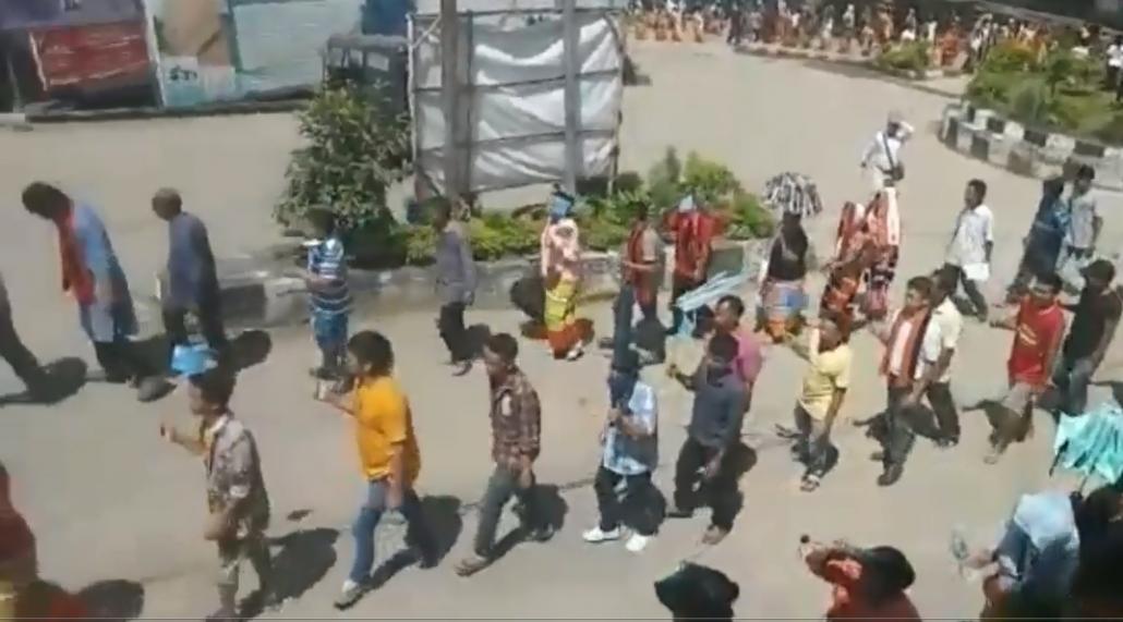 Rally in Tamenglong