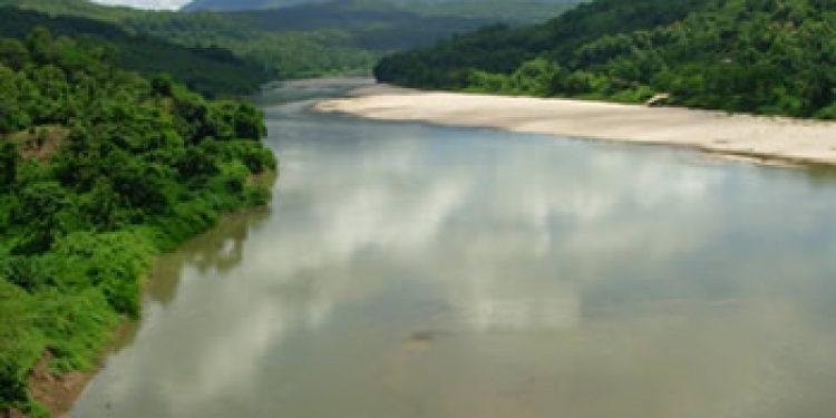 River Simsang in Garo Hills