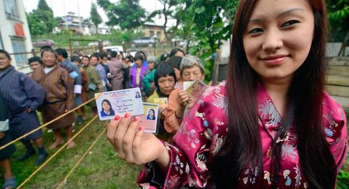 bhutan voters