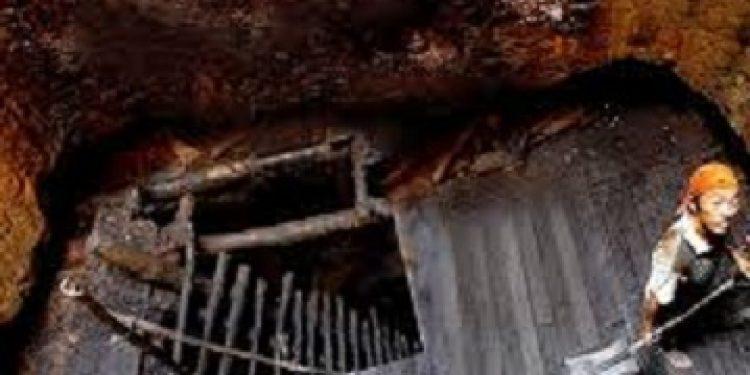 illegal coal mining