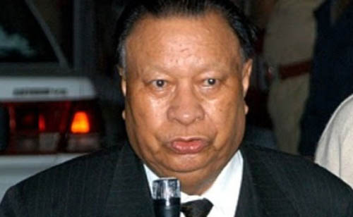 File picture of former Meghalaya CM DD Lapang who quit Congress on September 13, 2018. Photo: Northeast Now