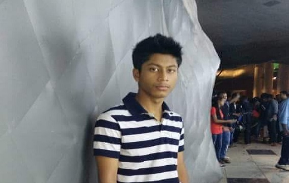 File photo of 16-year old Debraj Roy whose body was found mysteriously in a bathroom of a Boys hostel in Silchar. Photo: Northeast Now