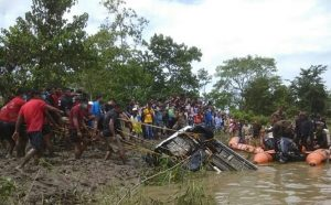 Assam: Two magnets located missing vehicle in turbulent Dikhow river 1