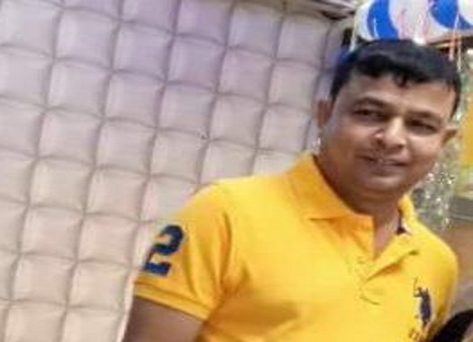 Tripura Police arrest Bidhan Roy, one of the fugitive drug mafias and kingpins of the state from the Netaji Subash Chandra Bose International airport at Dumdum in Kolkata on Sunday. Photo: Pinaki Das