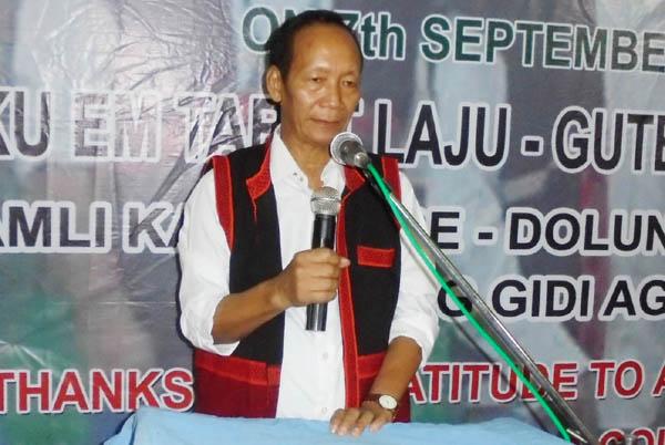 Arunachal MLA Nari-Koyu LAC) Kento Rina