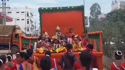 Janmashtami celebrated in Hojai