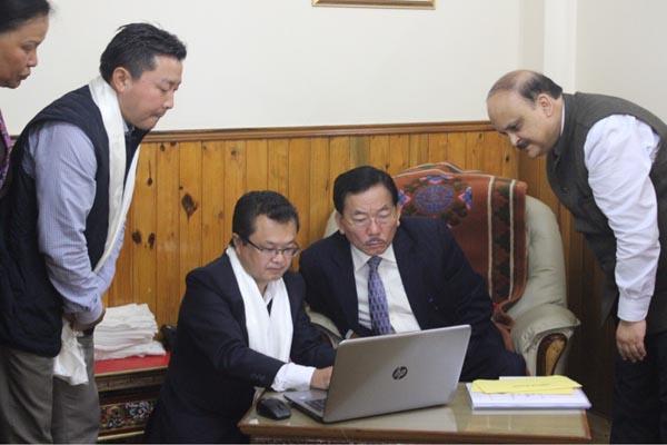 Sikkim CM launches portal