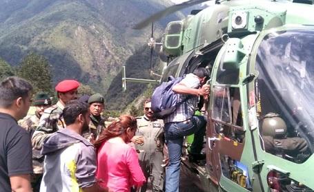 sikkim evacuation