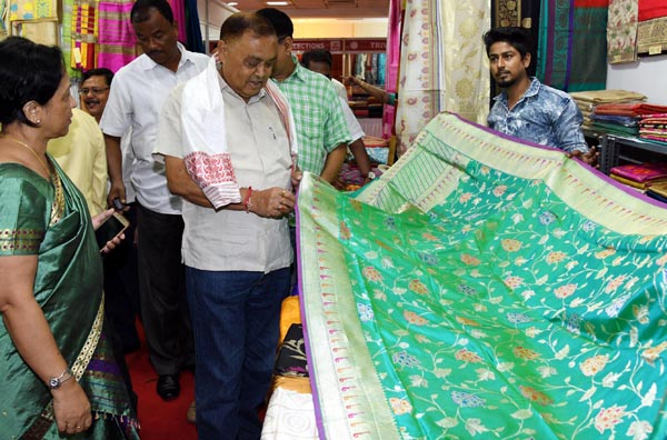 Ranjit Dutta at Silk Mark Expo Guwahati