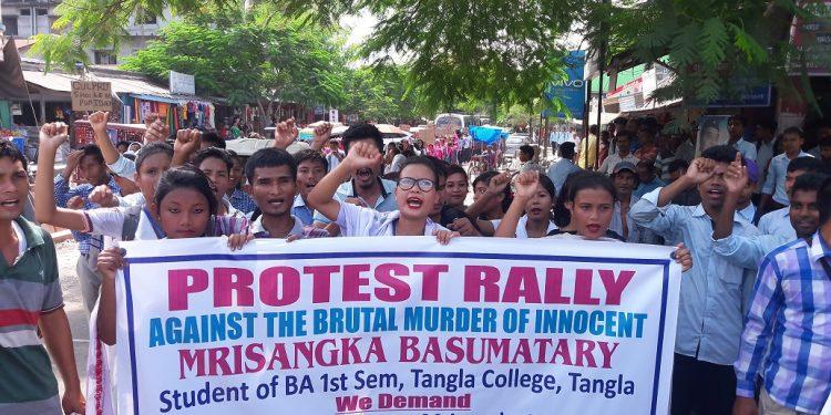 tangla protest