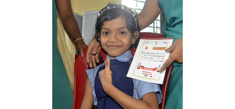 Measles-Rubella (MR) vaccination campaign