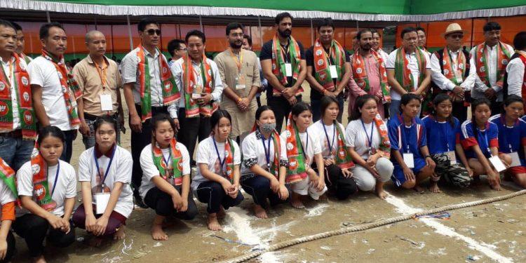 Arunachal BJP organized 'Yuva Sammelan'