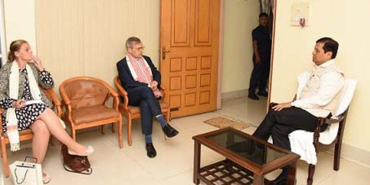 Assam CM-Norway Ambassador