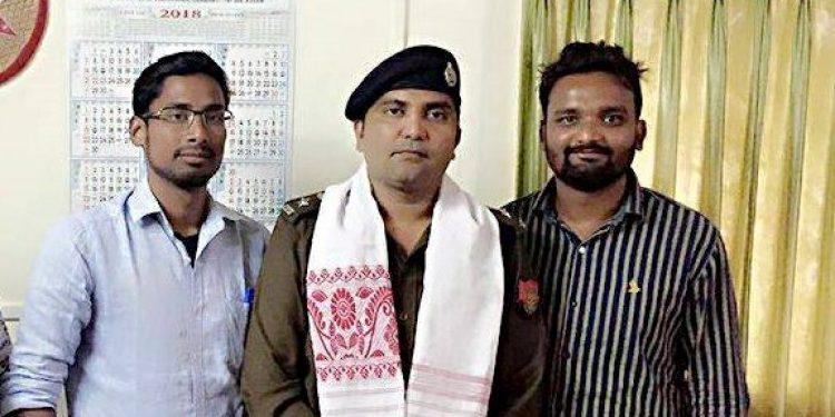 DCP Bhanwar Lal Meena (C)