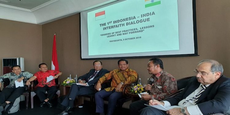 Meghalaya Chief Minister Conrad K Sangma is attending the first Indonesia – India Interfaith Dialogue in the Indonesian island of Java. Photo: Northeast Now