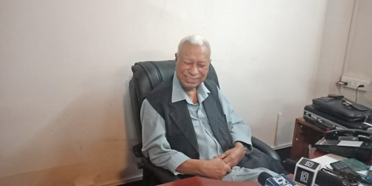 Former Meghalaya CM as well as chief adviser to MDA govt D D Lapang. Photo: Northeast Now