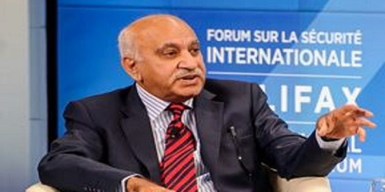 Following accusation of sexual harassment by women journalists India's junior External Affairs minister M J Akbar resigns.