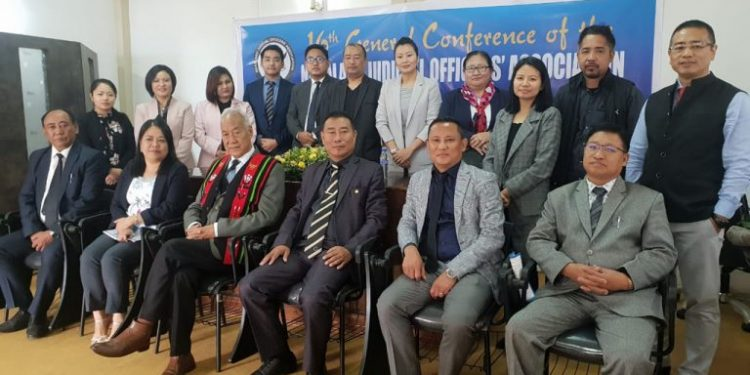 Memebers of the Nagaland Judicial Officers Association at the vent in Kohima.