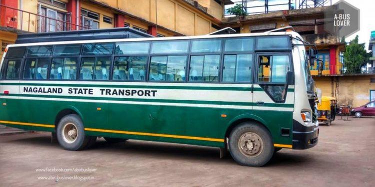 Nagaland State Transport bus