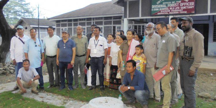 The expedition team at Pasighat. Image credit: Prafulla Kaman.