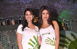 Parineeti_Priyanka_greenathon