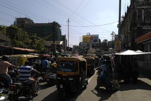 Streets of Silchar on Tuesday defying Assam bandh call (3)