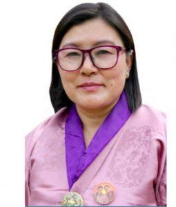 Tshering Choden, DPT Candidate wins Khar_Yurung constituency in Pemagatshel