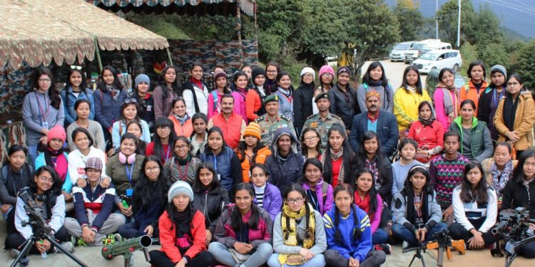SEEMA DARSHAN FOR KENDRIYA VIDYALAYA GIRLS STUDENTS