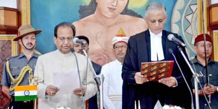 Justice AS Bopanna has taken oath as the Chief Justice of Gauhati High Court