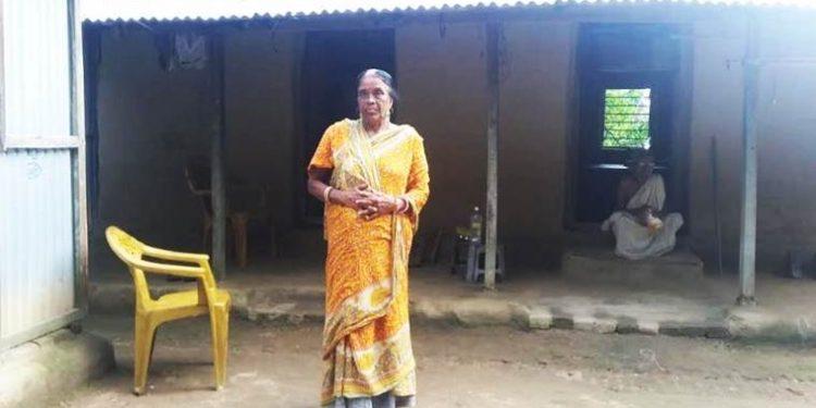 Keshab Sarkar's mother Sandhyarani Sarkar