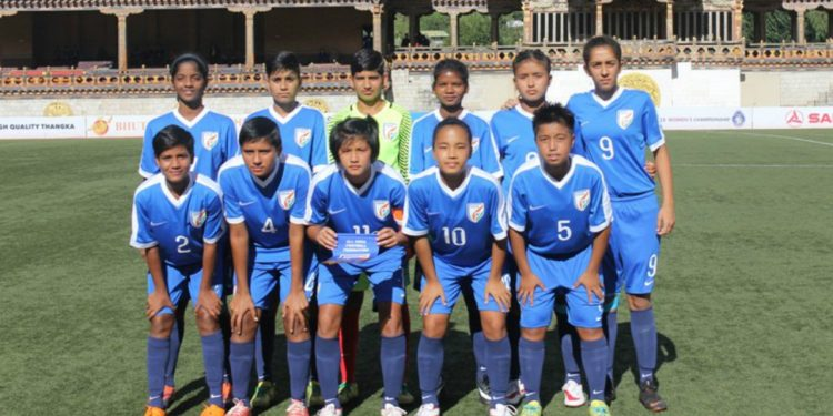 The Indian U-18 women's football team finished third in the SAFF Under-18 Championship after defeating hosts Bhutan 1-0