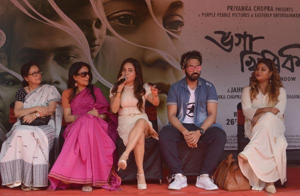 Priyanka Chopra's Assamese production Bhoga Khirikee launched its music recently.
