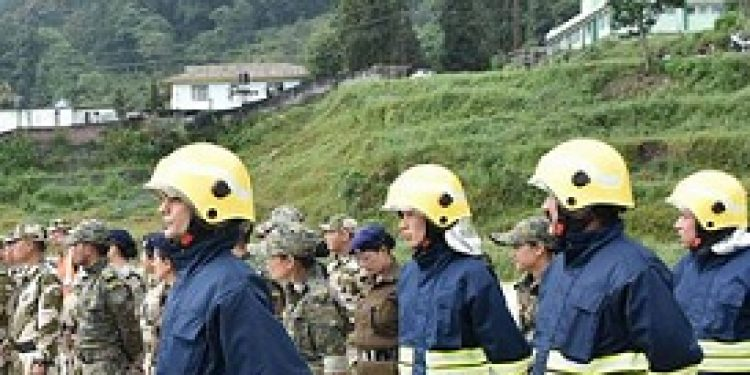 mock drill exercise