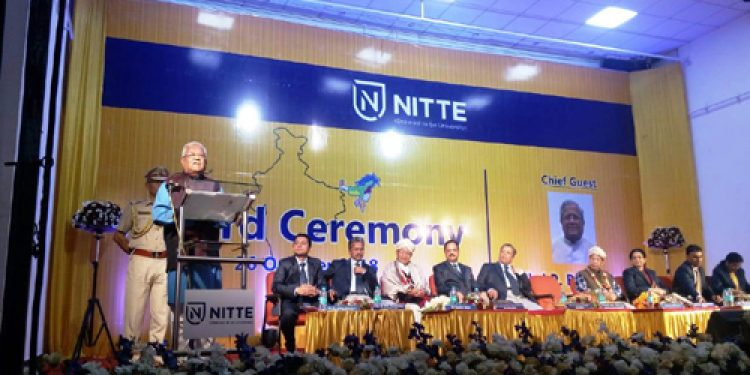 Nitte University confers honorary doctorate to 2 northeasterners