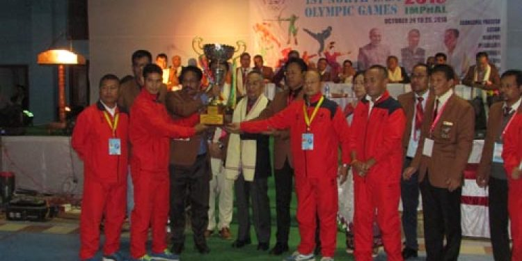 Manipur emerge overall champ in North East Olympic Games
