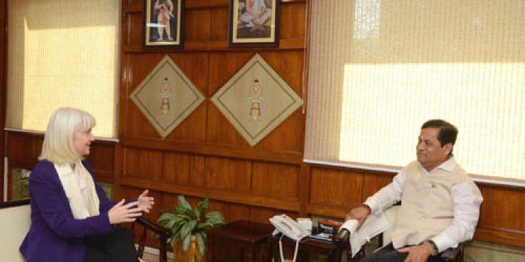US Consul General meets Sonowal