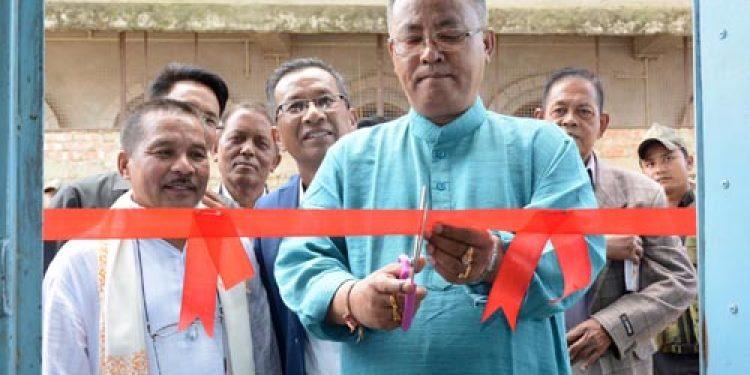 Manipur Health and Family Welfare Minister L Jayantakumar Singh