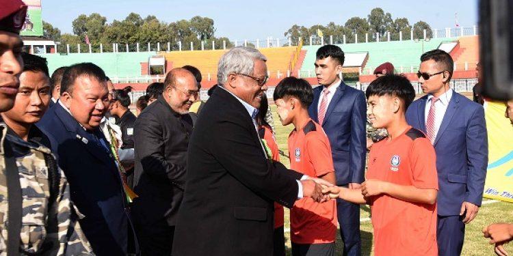 Manipur-Myanmar football