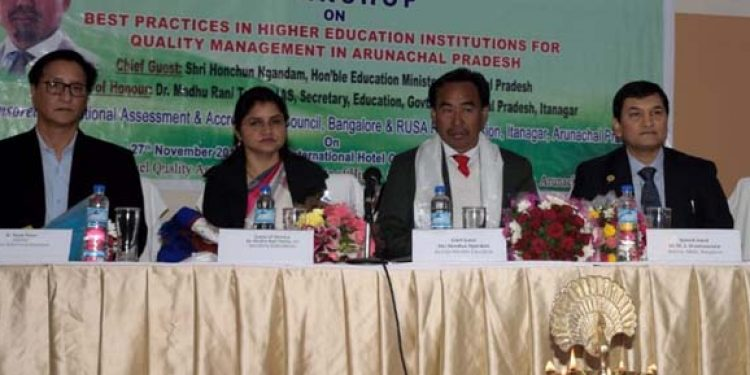 Arunachal Education Minister