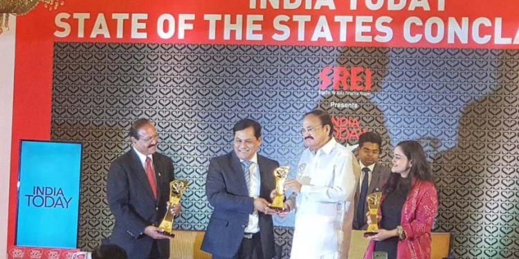 Award to Meghalaya